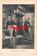 963 Tagerlin Geheimschneider Seemann Kunstblatt Druck 1897 !! - Prints