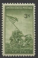 1945 3 Cents Iwo Jima Mint Never Hinged - United States