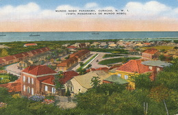 Curaçao  Mundo Nobo Panorama P. Used 1948 Air Mail To Hotel Excelsior Port Au Prince Haiti - Curaçao