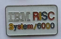 W207 Pin's IBM RISC SYSTEM 6000 Achat Immediat - Computers