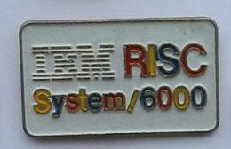 W207 Pin's IBM RISC SYSTEM 6000 Achat Immediat - Informatique