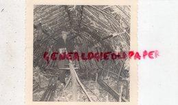87-  CUSSAC SAINT MATHIEU- FEUILLARDIER DANS SA HUTTE -RARE PHOTO ORIGINALE - Profesiones