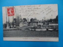"""78 ) Grosrouvre - Le Village """" Vue Générale """" - Année - EDIT : Bourdier - France"""