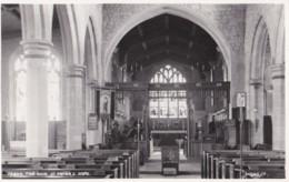 AQ35 The Nave, St. Peter's, Hope - Judges Postcard - Derbyshire