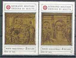 1979 ORDRE MALTE 164-65** Art, Sculpture - Malte (Ordre De)