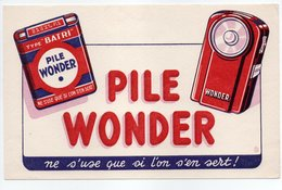 - BUVARD PILE WONDER - - Baterías