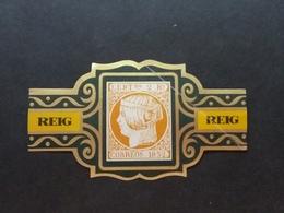 Tabac (objets Liés) > Autres Bague De Cigare Avec Timbre . - Raucherutensilien (ausser Tabak)