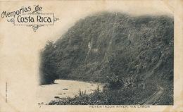 Memorias De Costa Rica Pionneer Card  Reventazon River Via Limon  Railway Postal Particular Undivided Back Edit Cespedes - Costa Rica
