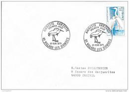 AIN 01  - VILLARS DES DOMBES  -  1ER JOUR D'EMISSION   -  15 2  1975  -  AIGRETTE GARZETTE  - - 1970-1979