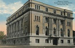 Kansas City Masonic Temple Temple Maçonnique . Franc Maçonnerie - Kansas City – Missouri