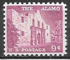 1956 Liberty Series 9 Cents Alamo Mint Never Hinged - United States