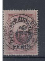 Peru Michel Cat.No.  Used Chilenian Occ 9B - Pérou