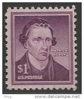 1958 Liberty Series $1.00 Patrick Henry, Mint Never Hinged - United States