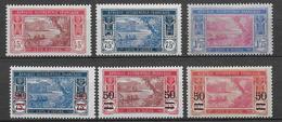 COTE D'IVOIRE - YVERT N° 104/108 * MLH  - COTE = 39 EUR. - Ongebruikt