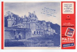 - BUVARD PILE MAZDA - INDRE-ET-LOIRE - Château De RIGNY-USSÉ - - Batterijen