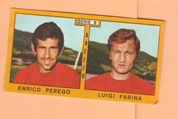 Calcio PANINI VALIDA Figurine Calciatori Serie B Arezzo PEREGO + FARINA 1969 / 1970 - Edizione Italiana