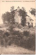 Environs De RETOURNAC (43) Le Château De Ribes - Retournac