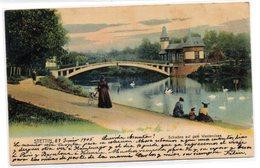 Tarjeta Postal De Stettin Circulada.1905 - Polen