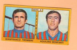 Calcio PANINI VALIDA Figurine Calciatori Brescia TURCHETTO + RAGONESI 1969 / 1970 - Panini