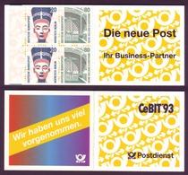 Bund Markenheftchen 28 B Sehenswürdigkeiten 1993 Postfrisch - Markenheftchen