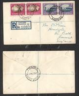 S.Africa, Registered Cover, 6d, MOBIELE PK No5 KAAPSTAD 22 SEP 47 > England - South Africa (...-1961)