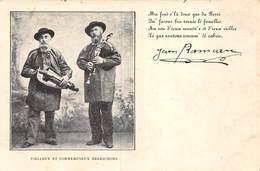 PIE.T Bl.19-7029 : JEAN RAMEAU. VIELLEUX ET CORNEMUSEUX BERRICHONS. CARTE PRECURSEUR. - France