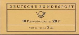 Ei_ Bund - Markenheftchen MH 11 - Postfrisch MNH - Berlin (West)