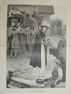 984 Robertson Für Die Schiffbrüchigen 26 X 36 Cm Großbild 1902 !! - Prints