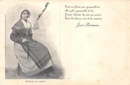 PIE.T Bl.19-7030 : JEAN RAMEAU. FILEUSE DU BERRY. CARTE PRECURSEUR. - France