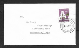 S.Africa, Cover, 4c, MOBIELE PK / MOBILE P.O. No22 - QUEENSTOWN - 3 I 72 C.d.s. > Rondebosche - South Africa (1961-...)