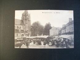 Carte Postale Ancienne De Meung-sur-Loire: Le Marché - Autres Communes