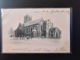 CPA (59) CASSEL.Eglise Notre-Dame.   Animation.            (G Bis 536) - Cassel