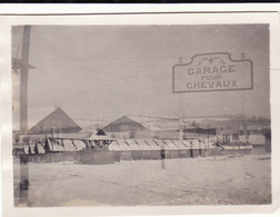 Photo Décembre 1917 HOE (Hôpital Origine Etape) De BOULEUSE (près Reims) (A211, Ww1, Wk 1) - France