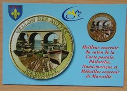 Médaille Touristique Marseille 2011 Le Vallon Des Autres Sous Encart - Arthus Bertrand