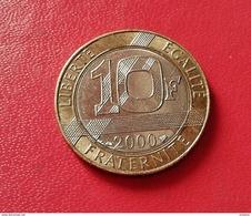 FRANCE 10 Francs 2000 GENIE DE LA BASTILLE  N°253 D - France
