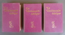 Dictionnaire Erotique -J.M. LO DUCA - Nouveau Dictionnaire De Sexologie - Sexologia-Lexikon -1972 - 3 Vol. Illustrés - Dictionnaires