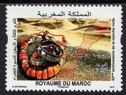 Morocco - 2018 - 43rd Anniversary Of The Green March - Mint Stamp - Morocco (1956-...)