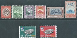 Ceylon-Srilanka 1950 Local Motifs,1966-Inaugurazione Della Sede Dell'OMS, Ginevra - MNH - Value 19,00 - Sri Lanka (Ceylan) (1948-...)