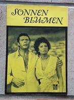 """Sophia Loren, Marcello Mastroianni, Ljudmila Saweljewa > """"Sonnenblumen"""" > Altes/großes/seltenes FFS-Filmprogramm (fp612) - Zeitschriften"""