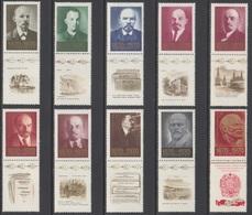 RUSSIE 1970 10 TP 100è Anniv De La Naissance De Lénine N° 3613 à 3622 Y&T Neuf ** - Ungebraucht
