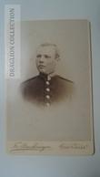 D164578 CDV  Cabinet Photo  -  Atelier Fr. Struckmeyer, Göttingen  - Ca 1880-90 -  Uniform Military -Soldat Soldier - Fotos