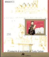 Por. Block 108 Antonius Von Padua ** MNH Postfrisch - Hojas Bloque