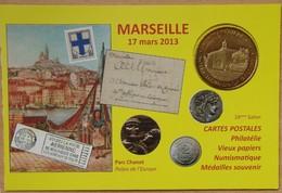 Médaille Touristique Marseille 2013 Notre Dame De La Galline - Monnaie De Paris