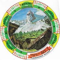 ETIQUETTE   DE  FROMAGE  18 Cm     PYRENEES AUBISQUE FROMAGERIE PALOISE 64 E JURANCON PYRENEES ATLANTIQUES - Cheese