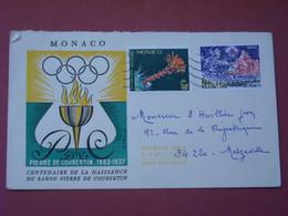 Monaco - Enveloppe Timbrée , Affranchissement Philatélique 13/02/1984 - Poststempel