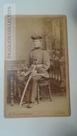 D164579 CDV  Cabinet Photo  -  Ch. Niederhäuser - UELZEN  - Ca 1880-90 -  Uniform Military -Soldat Soldier - Fotos