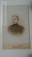 D164580 CDV  Cabinet Photo  - Louis Müller HAMELN   - Ca 1890-1900 -  Uniform Military -Soldat Soldier - Fotos