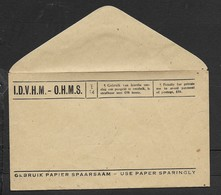 S.Africa, O.H.M.S. Envelope, Penalty For Private Use £50., Unused - South Africa (...-1961)