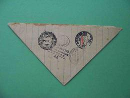 USSR Army Correspondence 1943 Triangle Cover, Local Censored Postmark IZHEVSK - 1923-1991 USSR