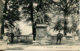 CPA - ARBOIS - MONUMENT PASTEUR (ETAT PARFAIT) - Arbois